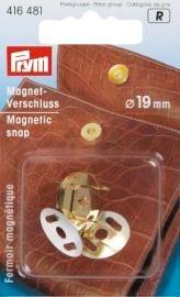 Magnetspänne 19mm guldfärg.