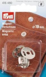 Magnetspänne 19mm silverfärg