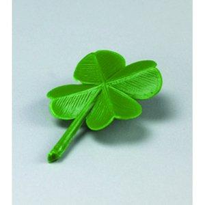 Miniatyr 28 mm - grön 8 st. Fyrklöver