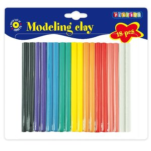 Modellera 18 st 9 färger