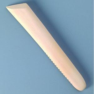 Modelleringsverktyg trä 180 x 32 mm - obehandlat 1 st.