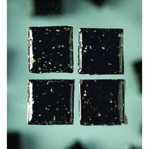 MosaixPro - glasmosaik 10 x 10 mm - svart 1.000 g ~ 1