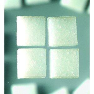 MosaixPro - glasmosaik 10 x 10 x 4 mm - vit 1.000 g ~ 1