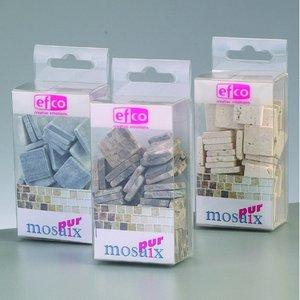MosaixPur - naturlig sten 20 x 20 x 4 mm - 200 g ~ 45 st.
