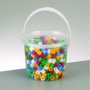 Nabbi® Maxi pärlor - mix grundfärger 550 st i hink