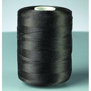 Nylontråd - svart 494 m / 50 g dubbel