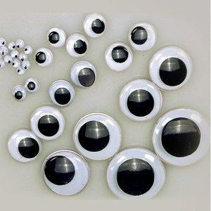 Ögon rörlig pupill - runda
