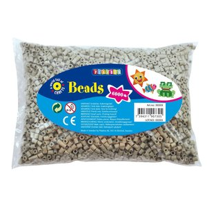 Pärlor 6000 st grå
