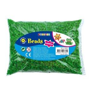 Pärlor 6000 st grön