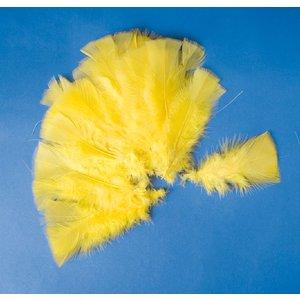Påskfjädrar 48 st gula