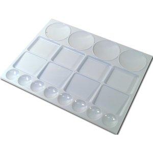 Plastpalett Rektangulär