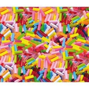 Plastpärlor 300 st stavar