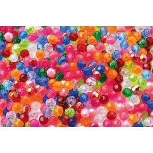 Plastpärlor kristaller