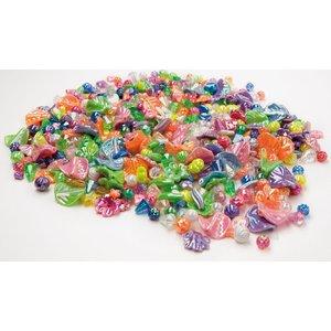 Plastpärlor pärlemor