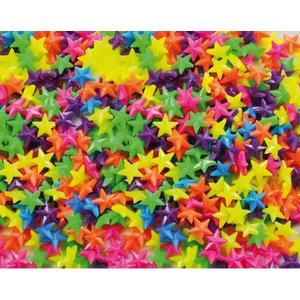 Plastpärlor stjärnor