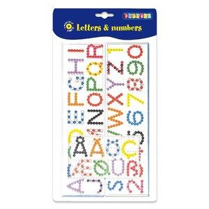 Plattor bokstäver & 0-9