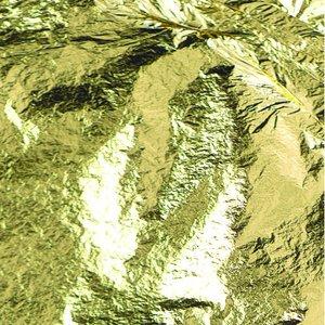Rena guldflarn 80 x 80 mm - 22 karat 10 ark för att dekorera mat