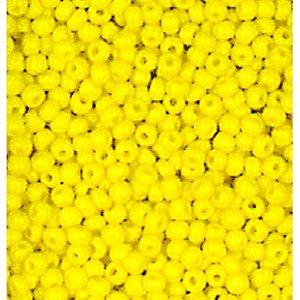Rocaillespärlor ogenomskinliga - gul