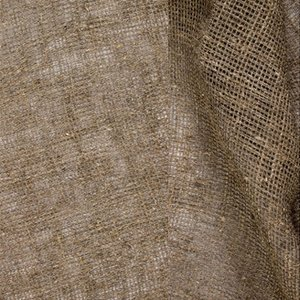 Säckväv - Gles - Natur - 110 cm