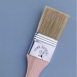 Silkesmålning pensel - obehandlat lackering / fyllning pensel