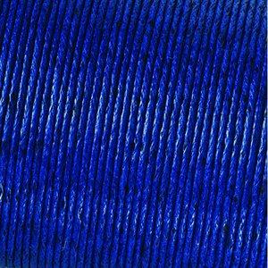 Snöre vaxad bomull - blå