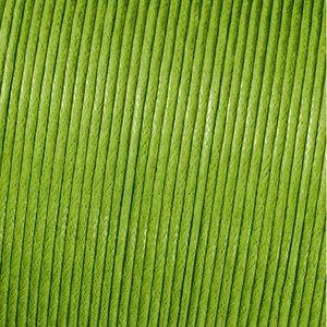 Snöre vaxad bomull - grön