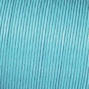 Snöre vaxad bomull - ljusblå