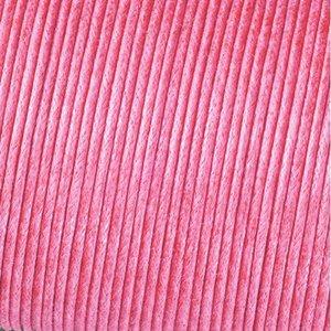 Snöre vaxad bomull - ljusrosa