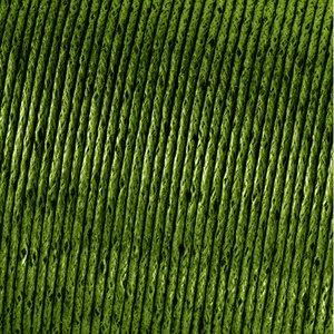 Snöre vaxad bomull - olivgrön