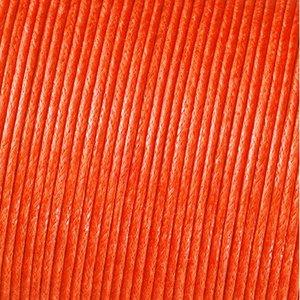 Snöre vaxad bomull - orange