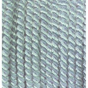 Snöre viskos 4 mm - 25 meter - vit