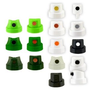 Spraymunstycken / Caps - 5-pack