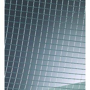 Ståltrådsnät 13x13 mm / 1 mm / 20x30 cm - silvergrå förzinkat