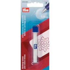 Stift för stiftpenna vita 6 st