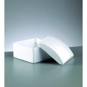 Styrolitbehållare 130 x 100 mm - kvadrat