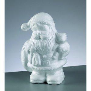 Styrolitform 180 mm - Jultomten med björn