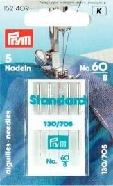 Symaskinsnålar flat kolv Standard 60
