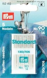 Symaskinsnålar flat Standard 90