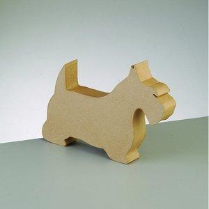 Terrier siluett stående