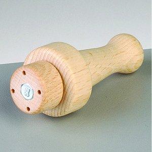 Trähandtag för 4 filtnålar - 1 st. 2 omonterade delar