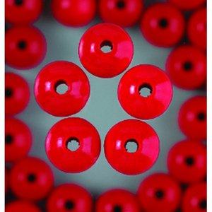 Träpärlor - röda