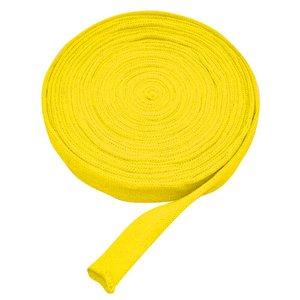 Tubstickad väv 3 cm gul