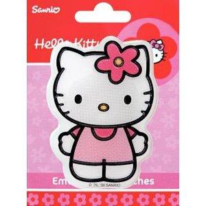 Tygmärke Hello Kitty självhäftande