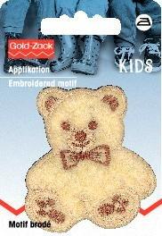 Tygmärke Nallebjörn liten fleece beige
