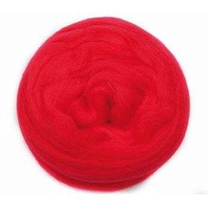 Ulltops 50g Rödrosa