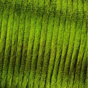 Vävtråd satin - grön
