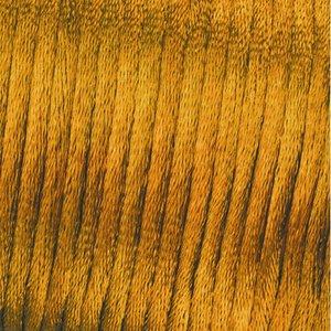 Vävtråd satin - guldfärgad