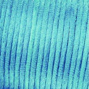 Vävtråd satin - ljusblå
