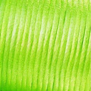 Vävtråd satin - ljusgrön