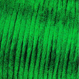 Vävtråd satin - mörkgrön